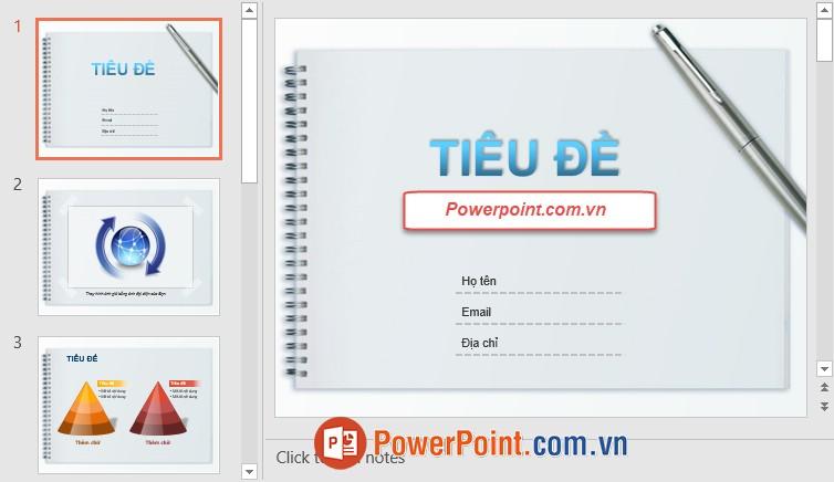 Mẫu Slide PowerPoint đẹp 10