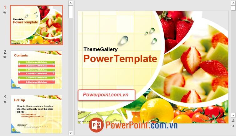 Mẫu Slide PowerPoint đẹp 11
