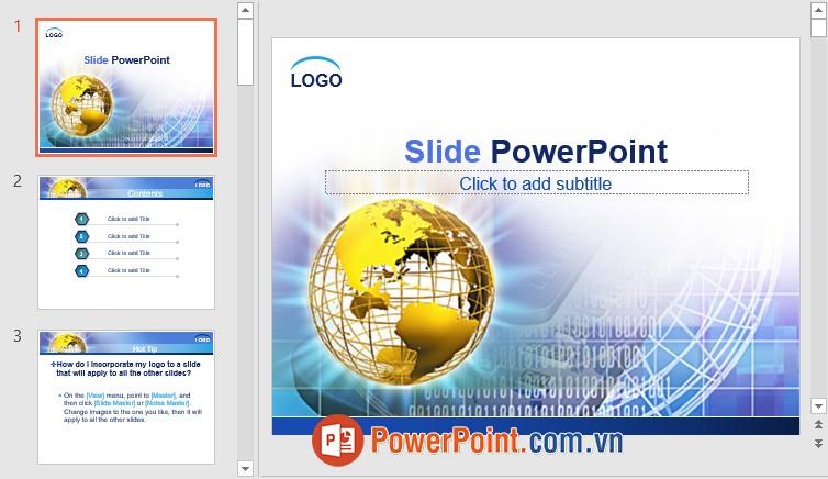 Mẫu Slide PowerPoint đẹp 12