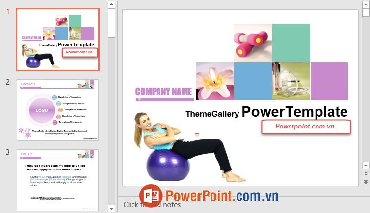 Mẫu Slide PowerPoint đẹp 13