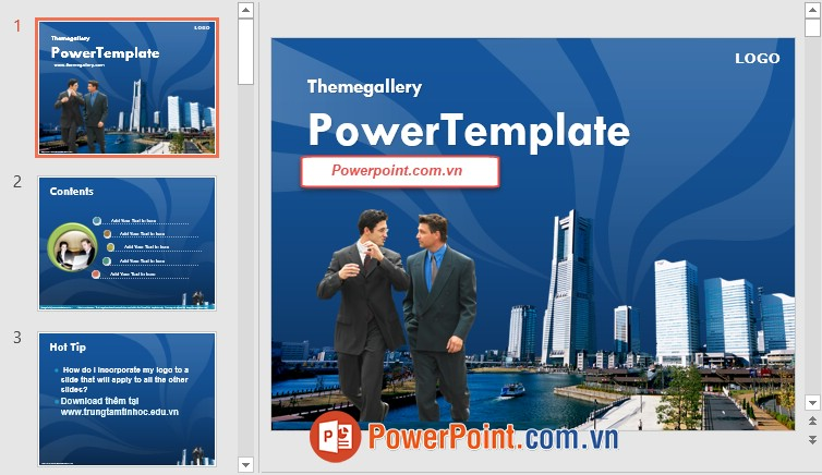 Mẫu Slide PowerPoint đẹp 14