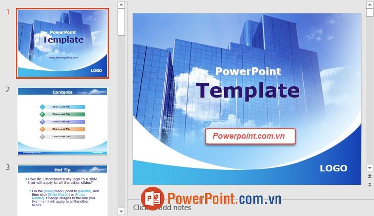 Mẫu Slide PowerPoint đẹp 17