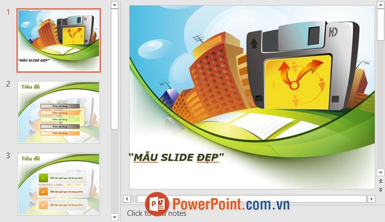 Mẫu Slide PowerPoint đẹp 19