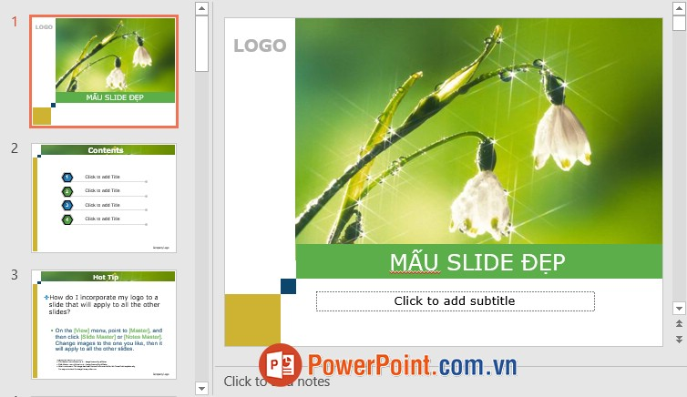 Mẫu Slide PowerPoint đẹp 20