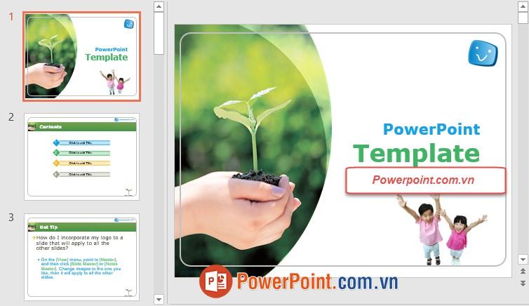 Mẫu Slide PowerPoint đẹp 4
