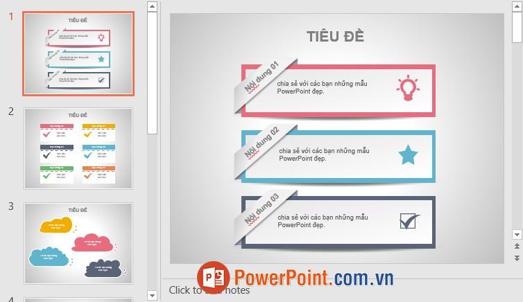 Mẫu Slide PowerPoint đẹp 6