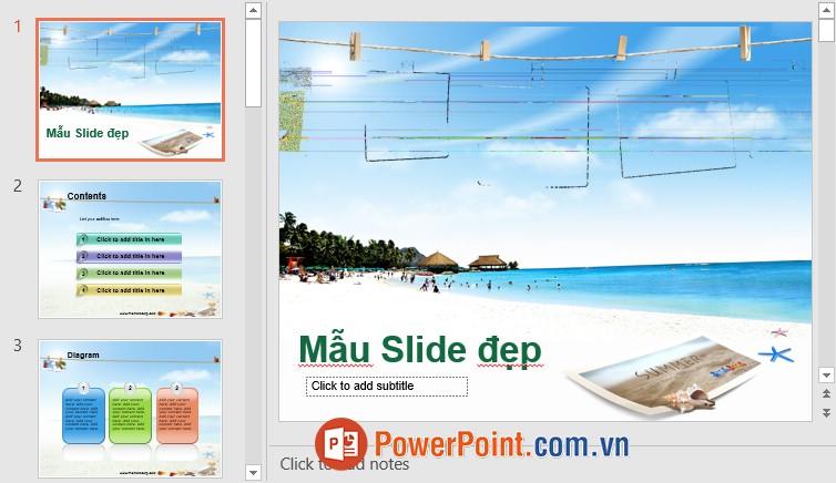 Mẫu Slide PowerPoint đẹp 7