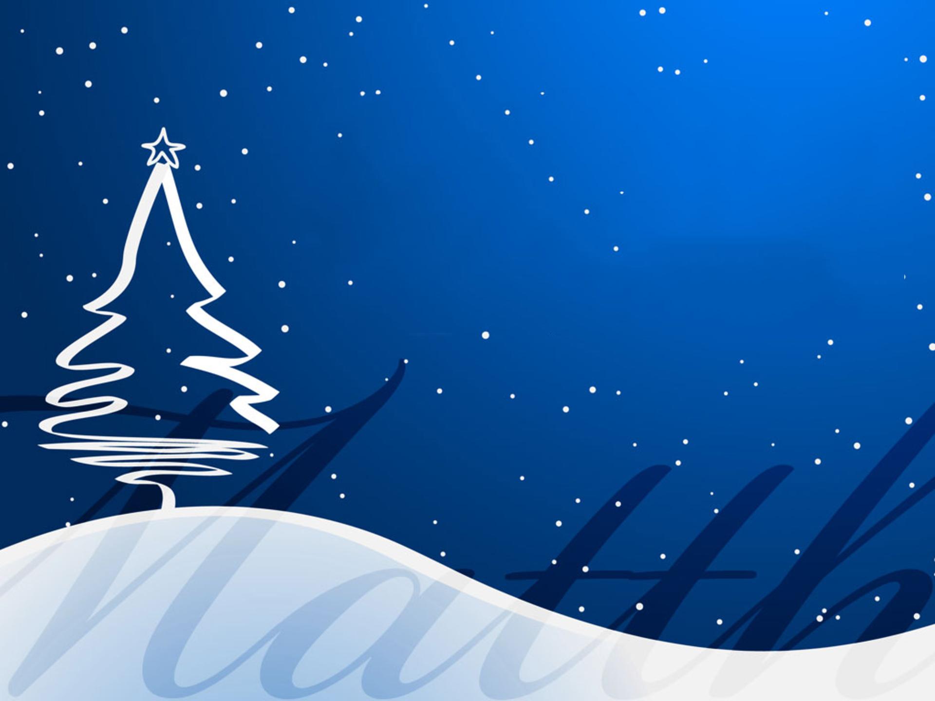 Hình nền PowerPoint cây thông Giáng Sinh