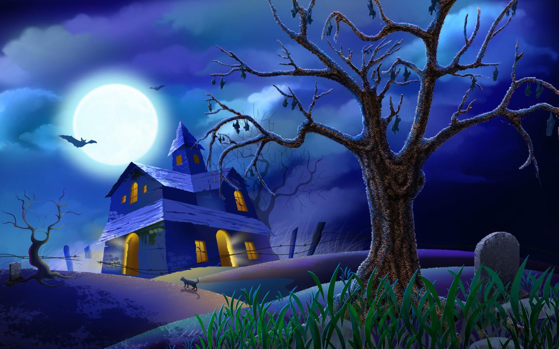 Hình nền Powerpoint Halloween