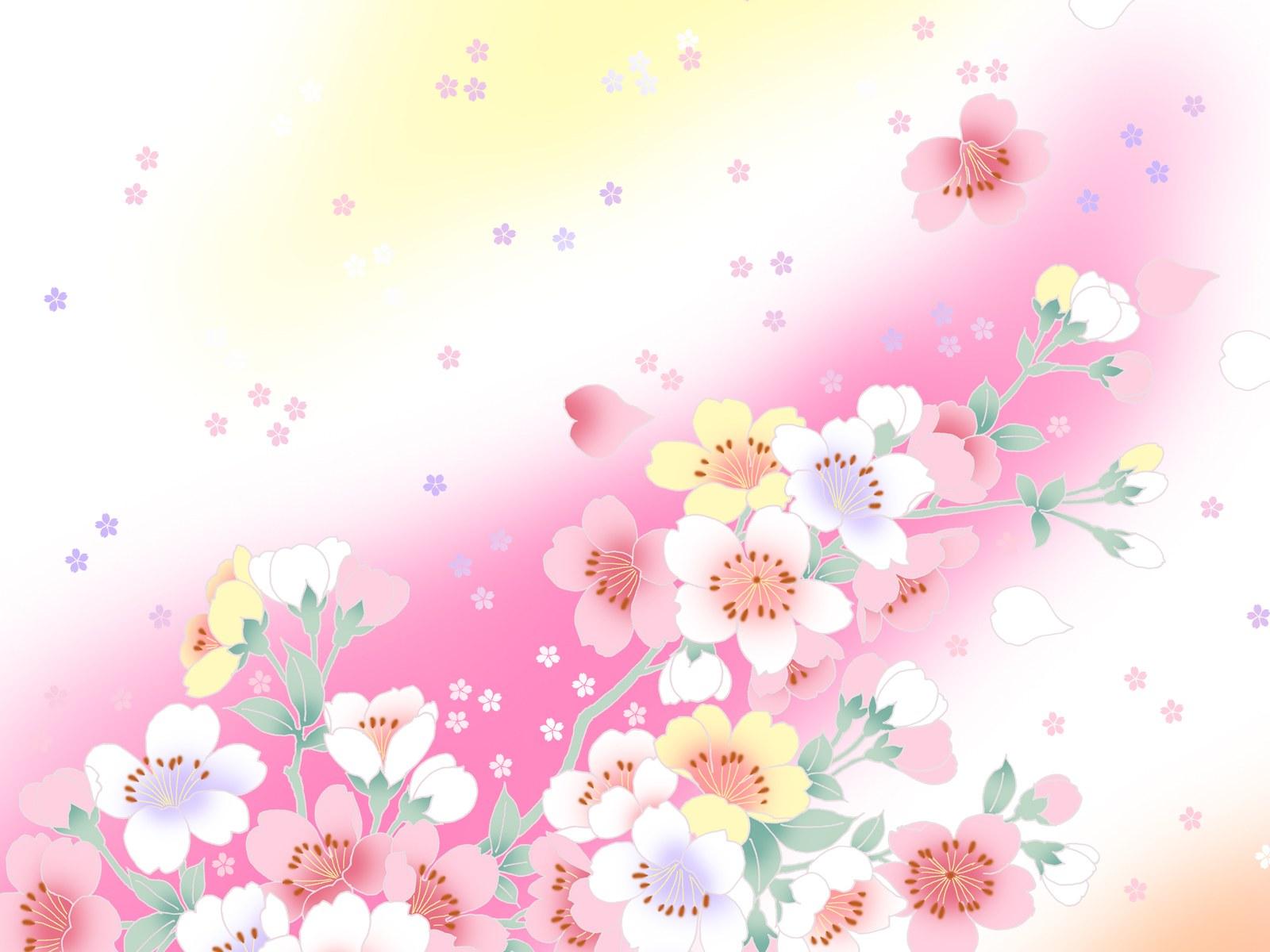 Hình nền Powerpoint hoa thiên nhiên