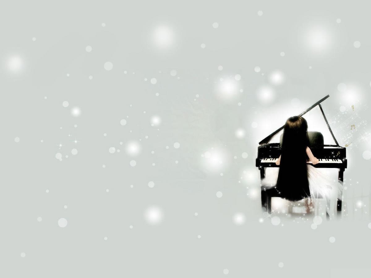 Hình nền Powerpoint piano chuyên nghiệp