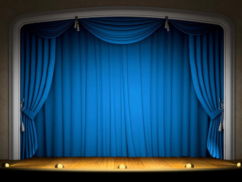 Hình nền Powerpoint sân khấu chuyên nghiệp